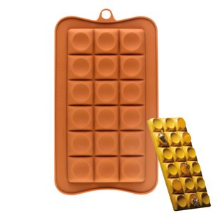 Dotted Breakaway Silicone Chocolate Mold