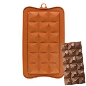 Swirled Breakaway Silicone Chocolate Mold