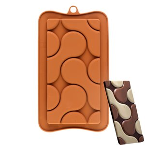 Round Puzzles Silicone Chocolate Mold