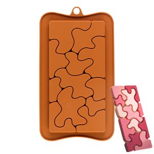 Groovy Puzzles Silicone Chocolate Mold