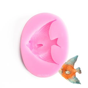Angelfish Silicone Fondant Mold