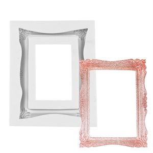 Large Regal Rectangle Picture Frame Silicone Mold