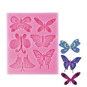 Assorted Butterflies Silicone Mold