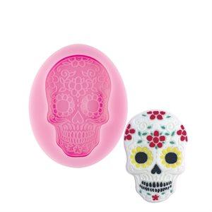 Dia De Los Muertos Skull Silicone Mold