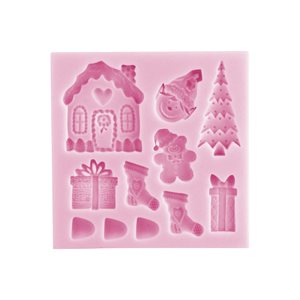 Gingerbread House Silicone Mold