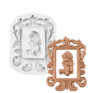 Ornate  Picture Frame Silicone Mold