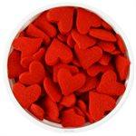 Jumbo Red Hearts Sprinkles