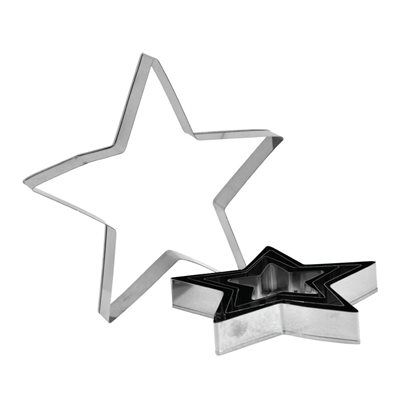 Star Cutter Set Stainless Steel