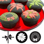 Christmas Cupcake / Cookie Stencils