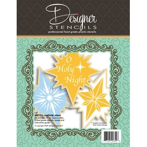 Nativity Stencil & Cookie Cutter Set