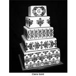 5 Tier Lace Set Cake Stencil