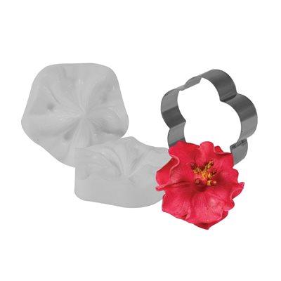 Hibiscus Cutter Veiner Set