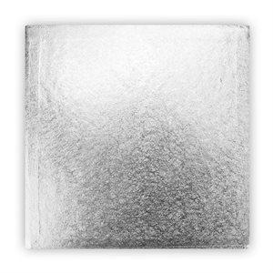 14  X 14 Inch Square Silver Cake Board 1 / 2 Inch Thick