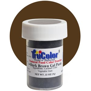 Dark Brown Gel Paste Natural Food Color 10 grams
