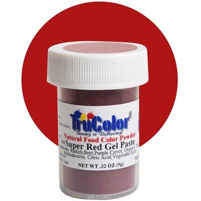 Super Red Gel Paste Natural Food Color 9 grams