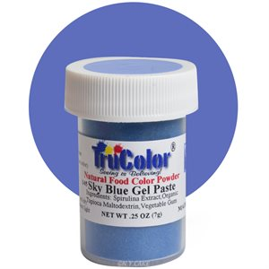 Sky Blue Gel Paste Natural Food Color 7 grams