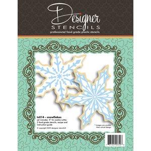 Snowflake Stencil & Cookie Cutter