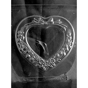 Heart Candy Box Chocolate Candy Mold-2 Piece Mold