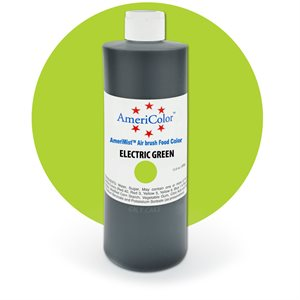 Electric Green Airbrush Color 9 Ounces By Americolor