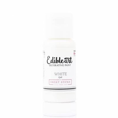 White Edible Art Paint By Sweet Sticks