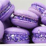 Purple Glittery Sugar 3 Ounces