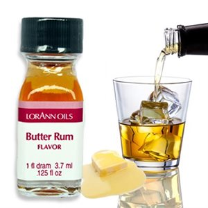 Butter Rum Oil Flavoring  1 Dram