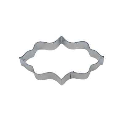 Elongated Plaque Cookie Cutter 4  3 / 4 Inch
