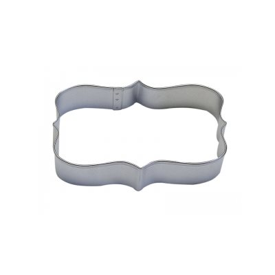 Rectangle Plaque Cookie Cutter 4  1 / 4 Inch