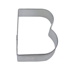 Alphabet Letter B  Cookie Cutter 2 3 / 4 Inch