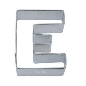 Alphabet Letter E Cookie Cutter 2 3 / 4 Inch