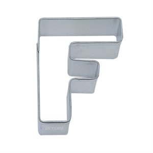Alphabet Letter F Cookie Cutter 2 3 / 4 Inch