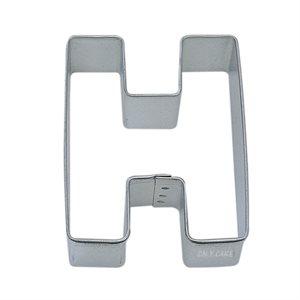 Alphabet Letter H Cookie Cutter 2 3 / 4 Inch