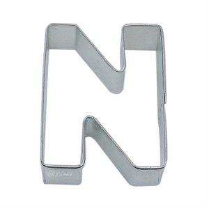 Alphabet Letter N Cookie Cutter 2 3 / 4 Inch