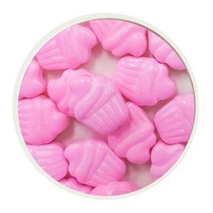 Cupcake Shape Pink Sprinkles