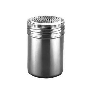10 Ounce Dredger Shaker Stainless Steel