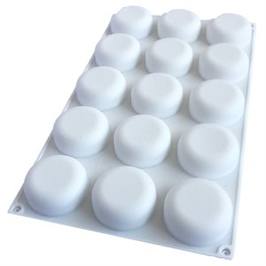 Flat Top Silicone Baking & Freezing Mold .9 oz.