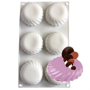 Swirl Tart Silicone Baking & Freezing Mold .