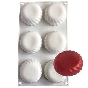 Swirl Tart Silicone Baking & Freezing Mold .