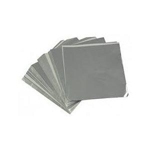 Silver Foil Square 4 Inch x 4 Inch