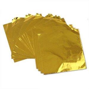 Gold Foil Square 4 Inch x 4 Inch