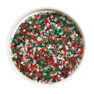 Mistletoe Glittery Sugar 3 Ounces