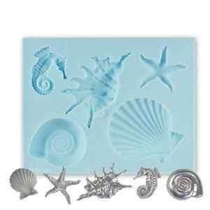 Seashells Silicone Mold