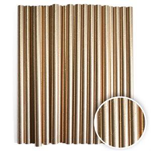 Metallic Gold Cake Pop Sticks- 6 Inch -Pack of 25