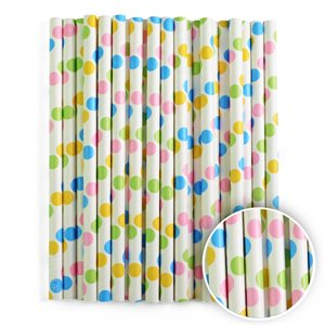 Confetti Cake Pop Sticks- 6 Inch -Pack of 25