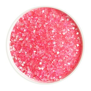 Pink Glittery Sugar 3 Ounces