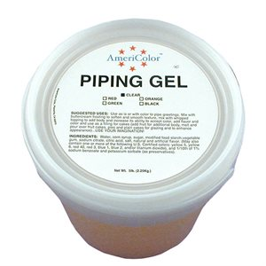 Clear Piping Gel 5 Pounds