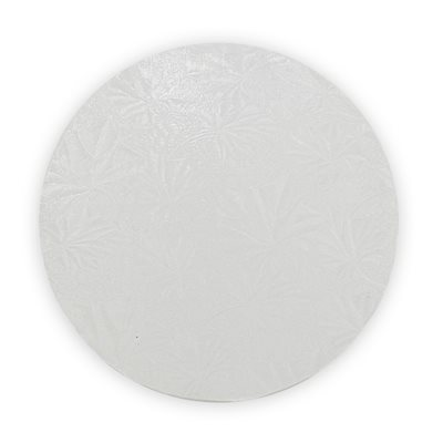 16  Inch Round White Cake Board 1 / 2 Inch Thick