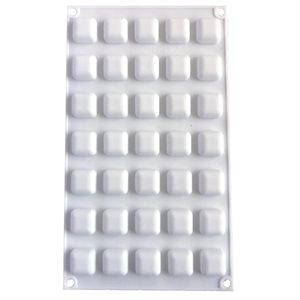 Mini Rounded Square Silicone Baking & Freezing Mold .17 oz.