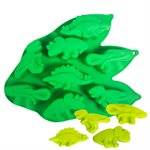 Silicone Baking Mold-Dinosaur Shape 8 Cavity
