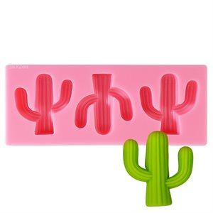 Cactus Mold- 3 Cavity's
